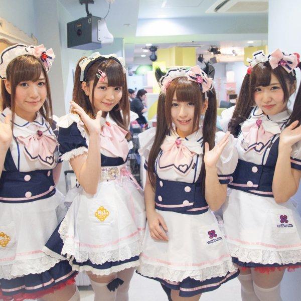 Notre premier Maid café: MaiDreamin à Akihabara.