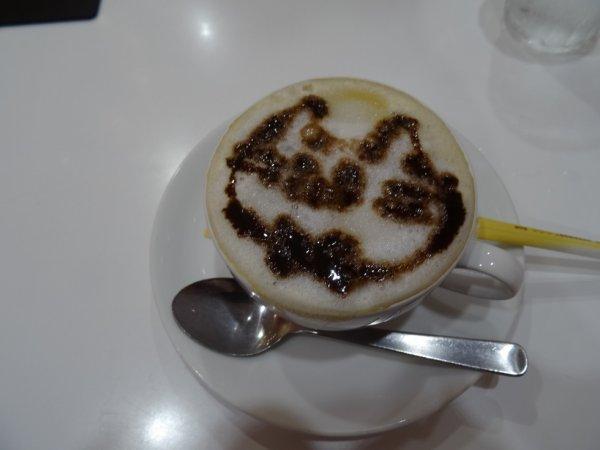 """Le """"cappuccineko"""" magique!"""