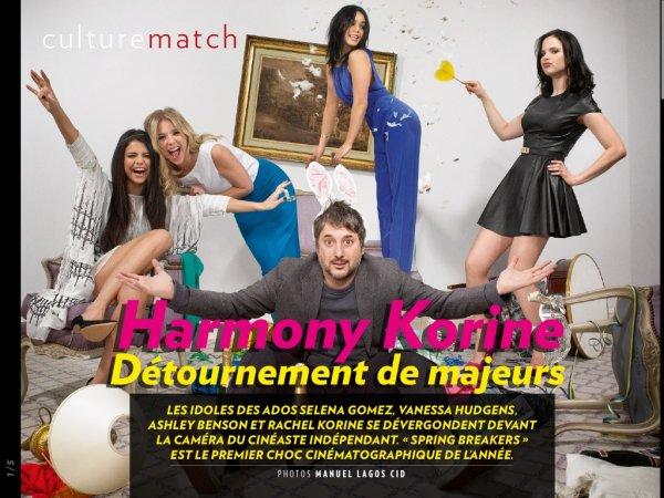 Spring Breakers dans Paris Match