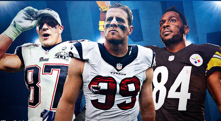 J.J. Watt, Rob Gronkowski Top NFL's Best Non-QBs -Buy NFL jerseys report