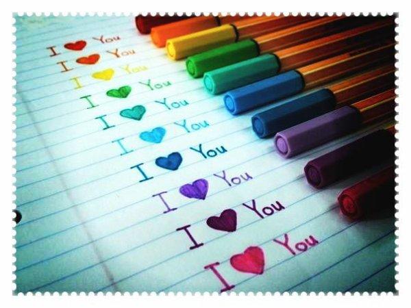 I love you (l)
