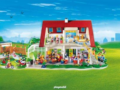 News maison playmo moderne bienvenue sur la planete des playmo - Toute les maison playmobil ...