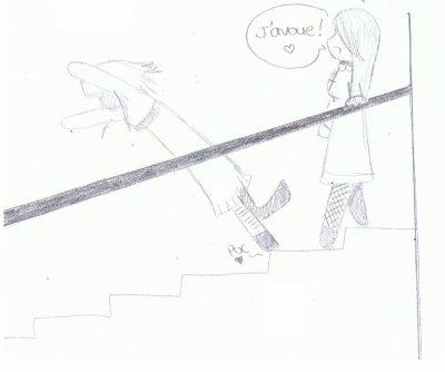 Maudits escaliers !!