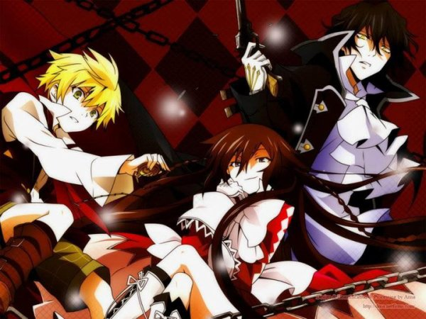 "Fiche anime : ""Pandora Hearts"""