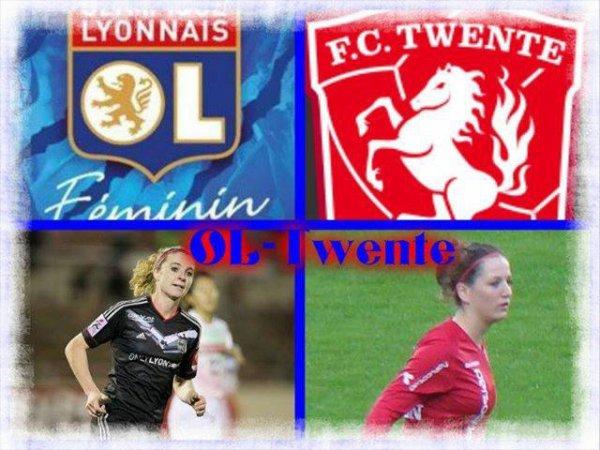1/16 finale (retour) LDCF (ligues des champions féminines)