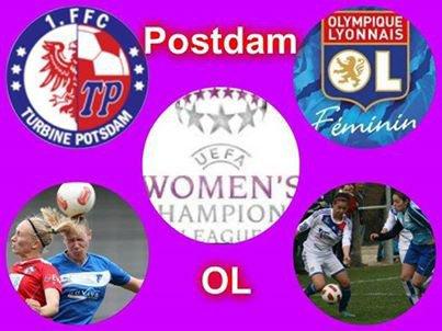 1/8e finale de ligues des champions féminines (aller)