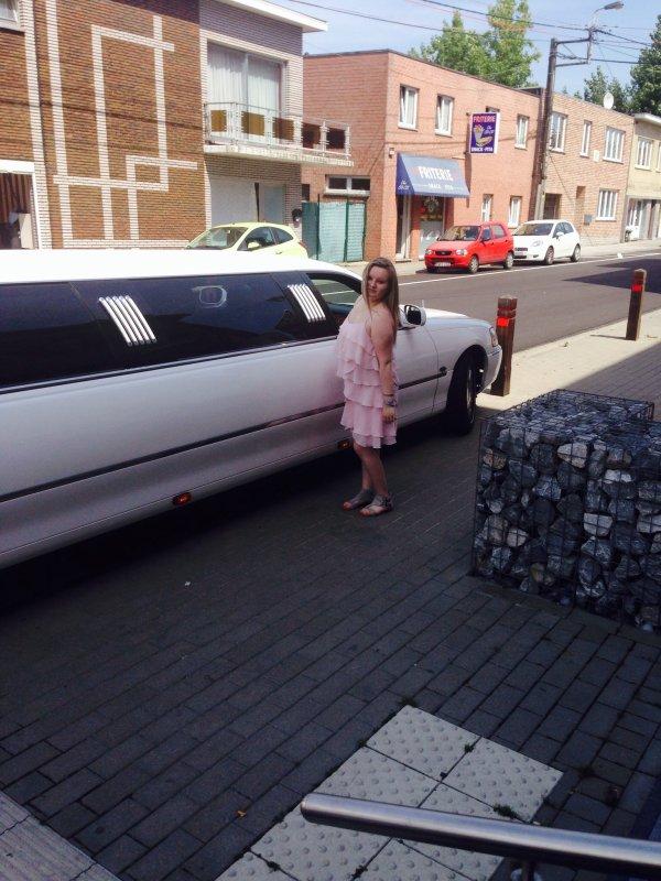 Avec la limousine ❤️
