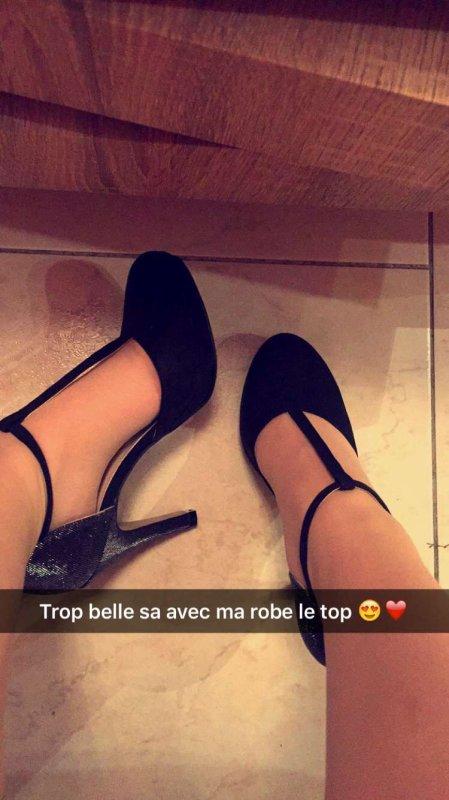 Nouvelle chaussure 😍pour allez avec la robes 💙❤