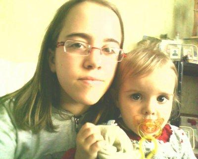 Moi et ma Ptite soeur <3