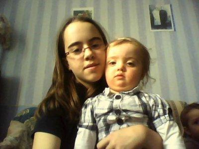 Zoé et moi :D