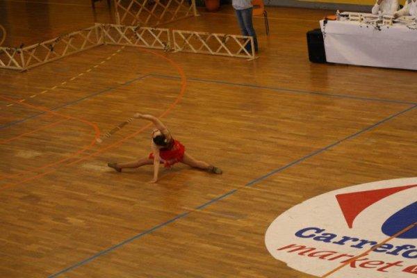 championnat regional individuel a Vire je suis arriver 1ere/3 !