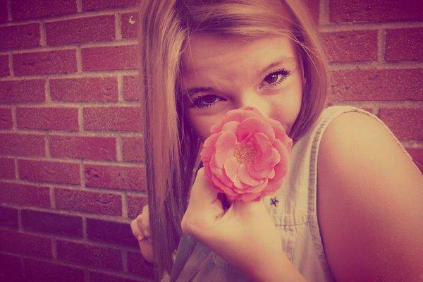 Une fleur pour vous!♥