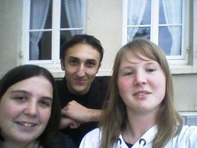 Ameline, Maxime et moi