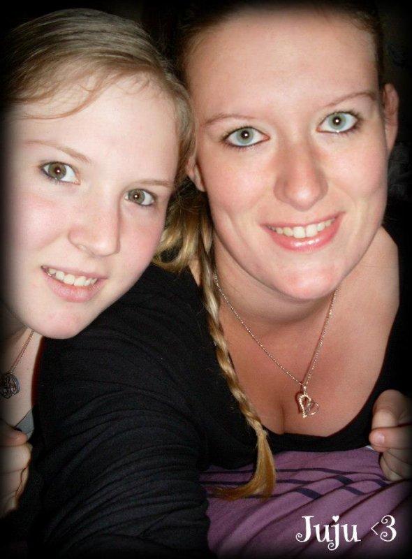 Ma Blonde et moi :)