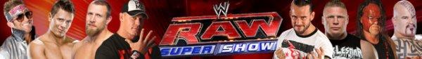WWE RAW du 9 juillet 2012