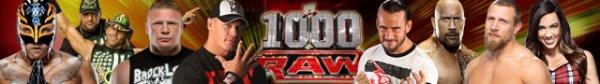 WWE RAW 1000 Episode (July 23th)