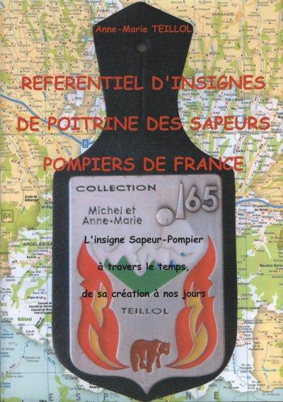 Référentiel d'insignes de poitrines des sapeurs pompiers de France