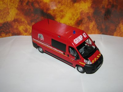 "citroen jumper "" pompiers GRIMP 87"""