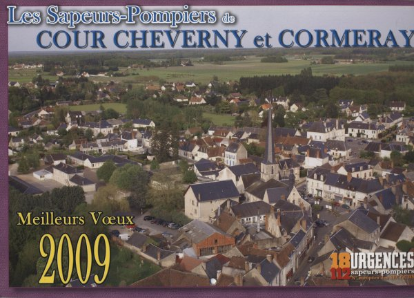 cour cheverny et comeray 2009