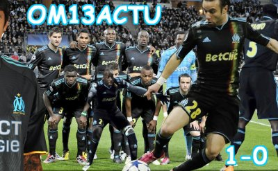 Olympique de Marseille 1-0 Zilina