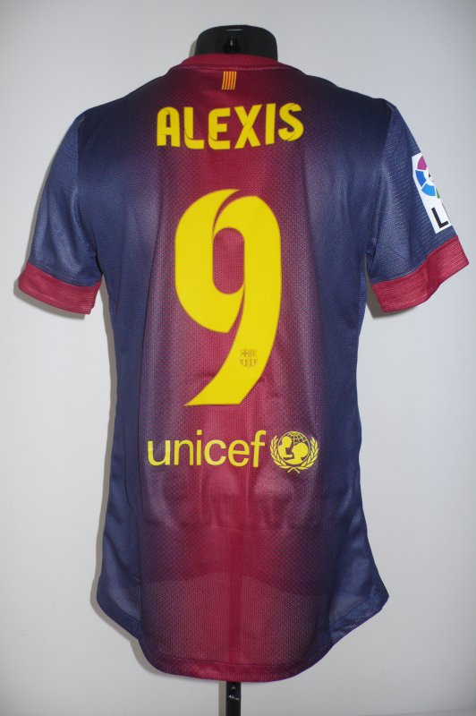 FC Barcelone - Alexis - 2012/13