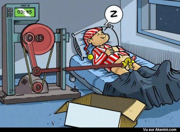 La machine idéale pour bien dormir -pr les hommes célibataire