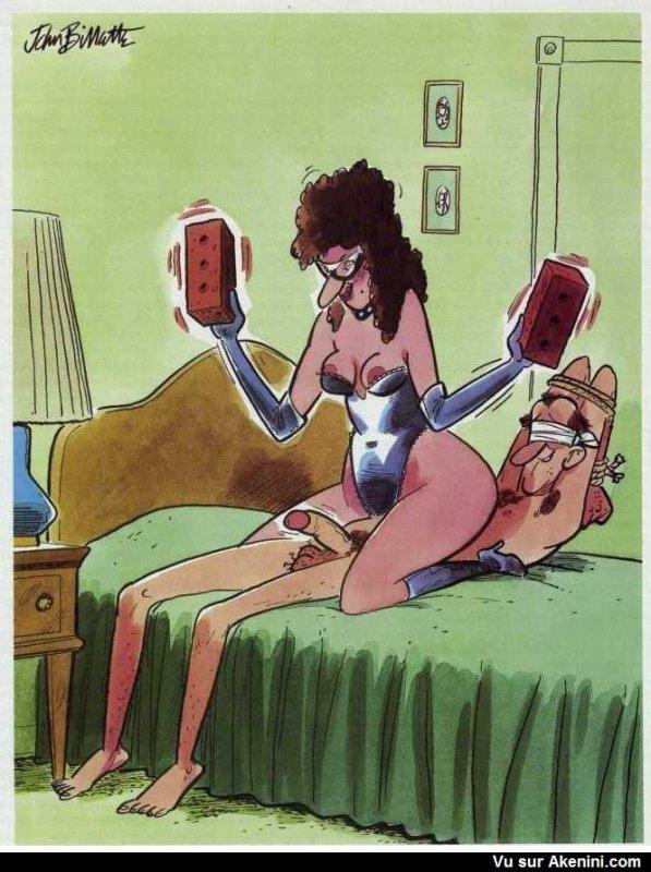 Les jeux sado maso dans un couple....Aïeeeeeeeeeeeeeeeeeee
