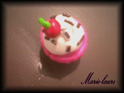 Cupcake en fimo