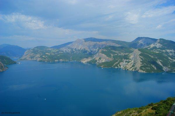Lac de Serre-Ponçon : Juillet 2011,