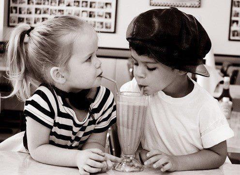 - Même à 5 ans, l'amour fait des ravage.