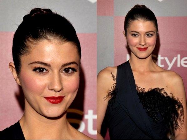 ■ 17/01/2011  Mary était à « InStyle Bros Golden Globe awards 2011 After Party »  à Beverly Hills. Mary était  absolument superbe , Dans une magnifique robe (Swan) noir.