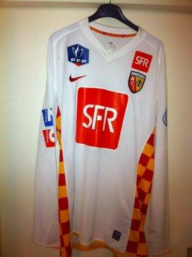 maillot porté romain Sartre cdf contre Arras