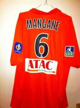 maillot porté Mangane
