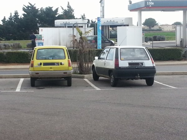 Une Renault 5