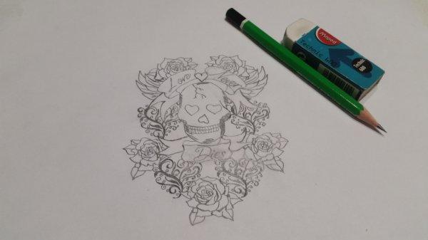 Nouveau dessin pour tatoo
