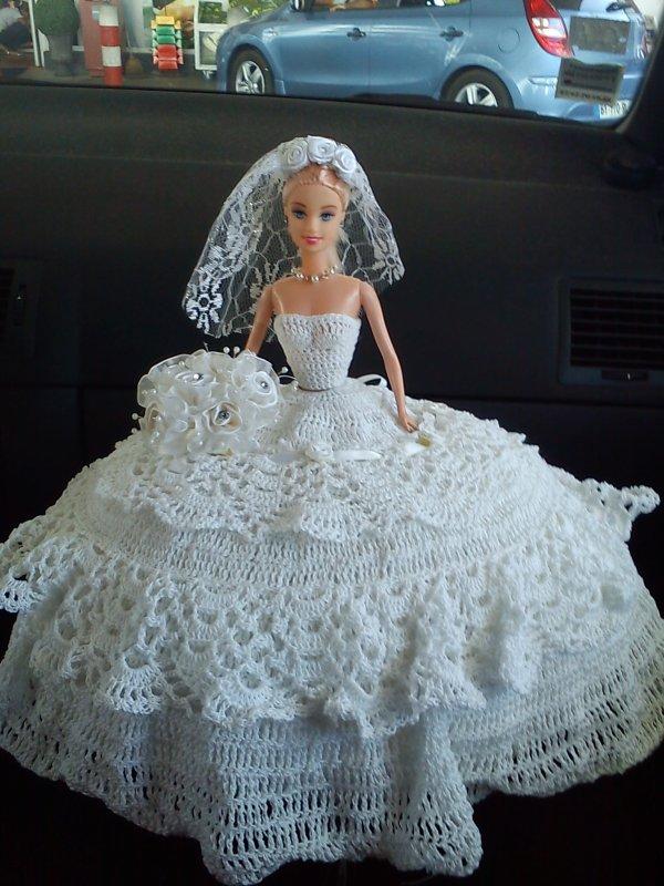 poupée mariée