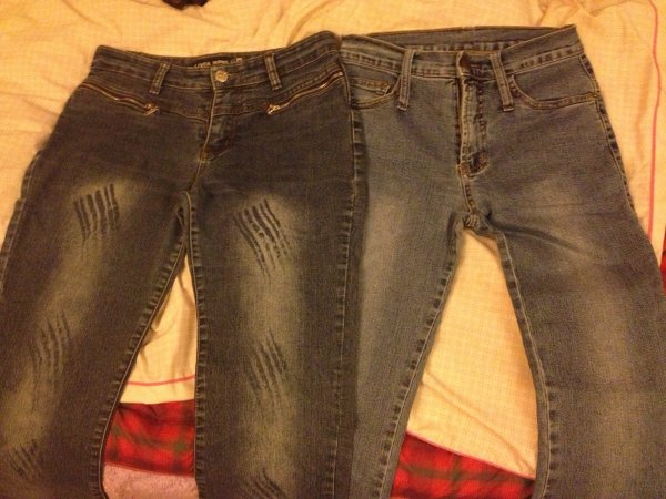 Jeans taille 36, petit 38