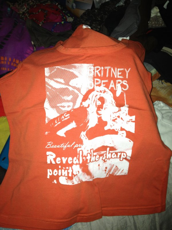 Tee shirt Britney Spears taille M comme neuf