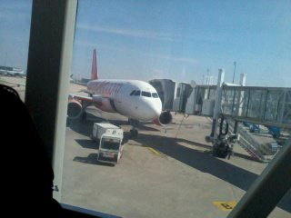 aeroport avant de partir en amerique