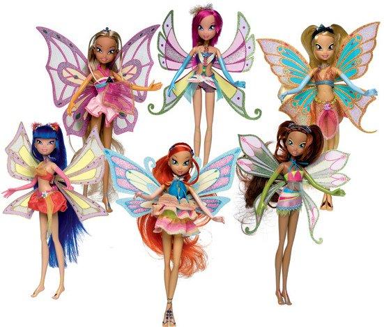 La présentation des Winx en fées enchantix ♥