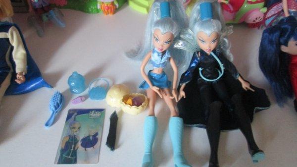 Nos deux poupées Winx, Icy ♥