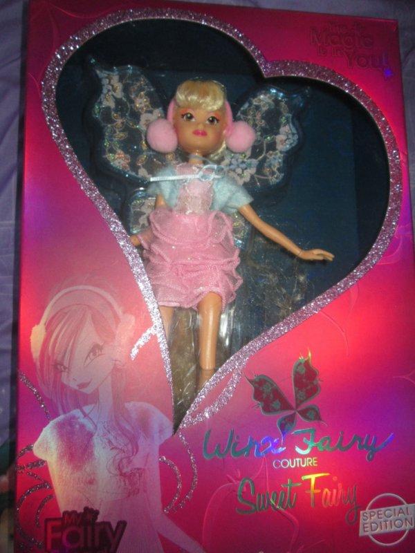 poupée stella winx fairy couture sweet fairy !!!!!!!!!