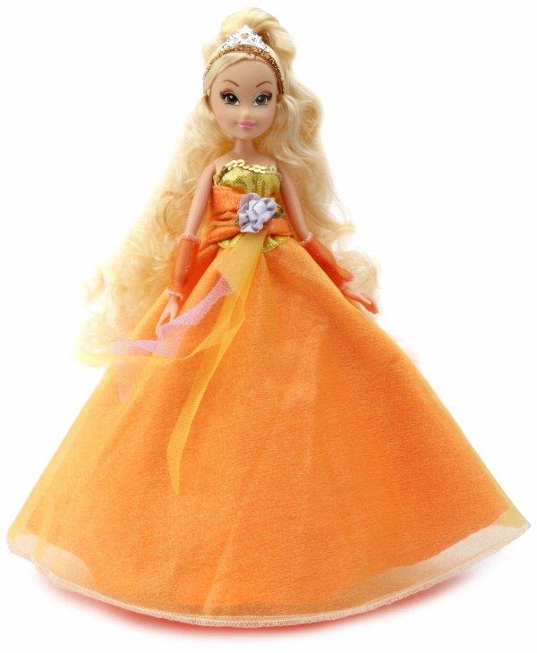 Princesse Stella en robe de bal