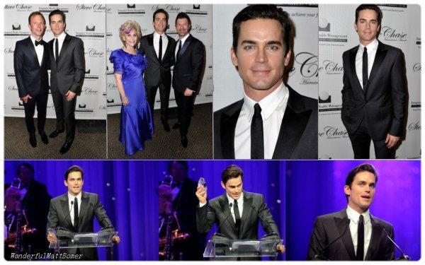 Matt Bomer au 18th Annual Steve Chase Humanitarian Awards le 11 février dernier