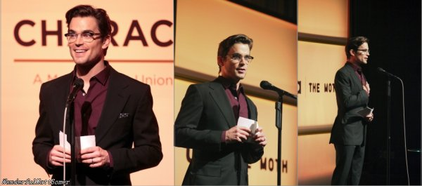 "Matt Bomer au ""A More Perfect Union: Stories of Prejudice & Power""  le 15 février dernier"