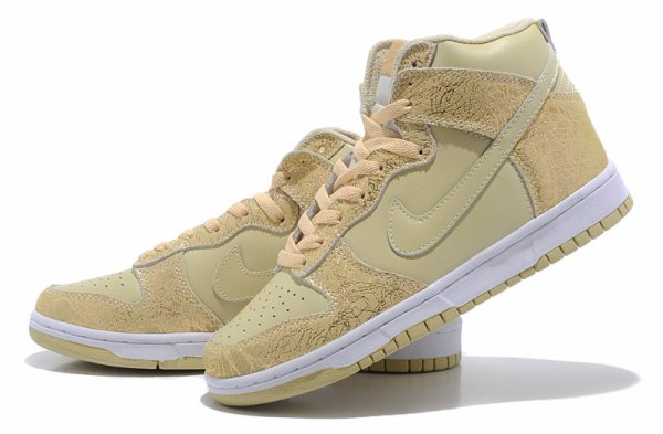 nike dunk sequin gold beige shoes for women superman