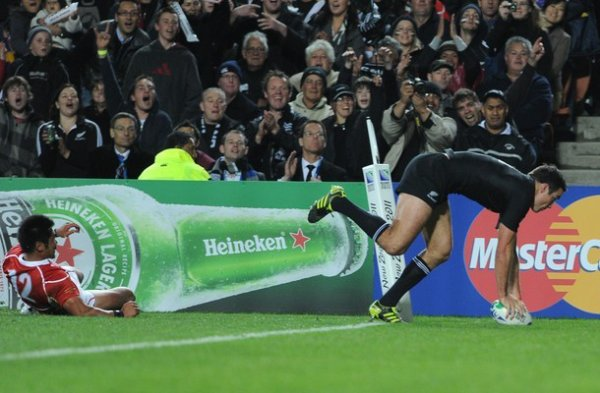 Match des All Blacks Coupe du monde