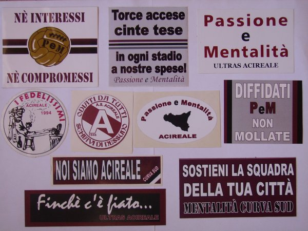 STICKERS ACIREALE