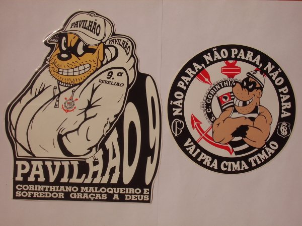 STICKERS BRESIL