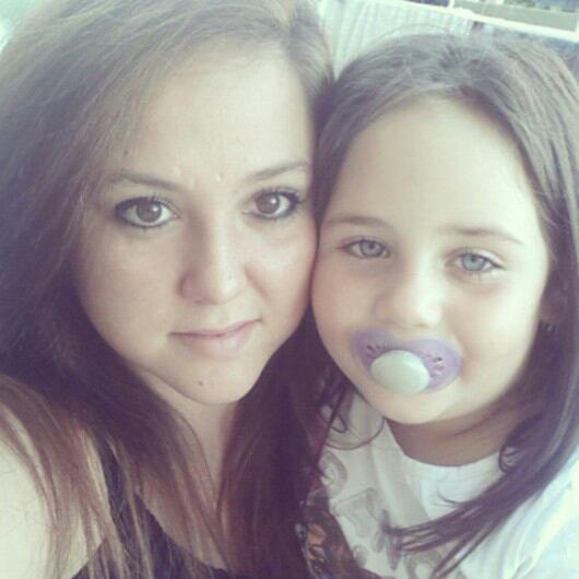 Avec la petite soeur :) # Maryon